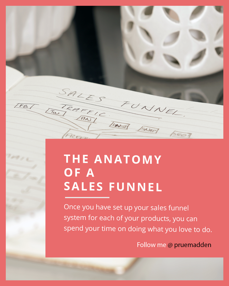 The Anatomy of a Sales Funnel - Prue Madden