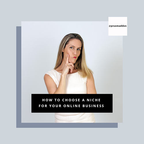 How to choose a niche for your online business