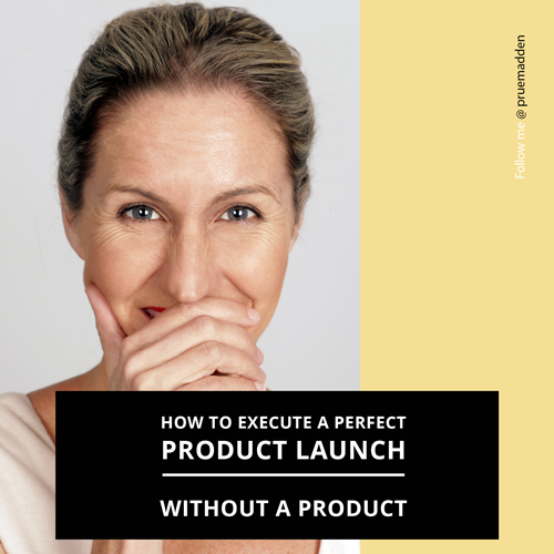 How to Execute a New Product Launch Without a Product