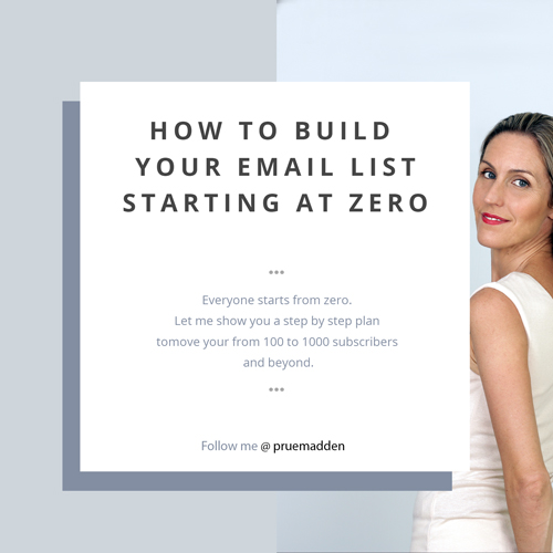 How to Build Your Email List Starting at Zero