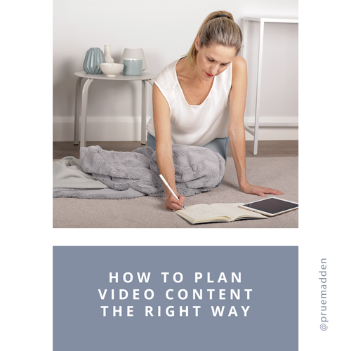 How to plan video content the right way