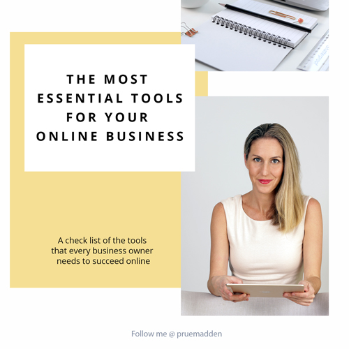 The Most Essential Tools for Your Online Business