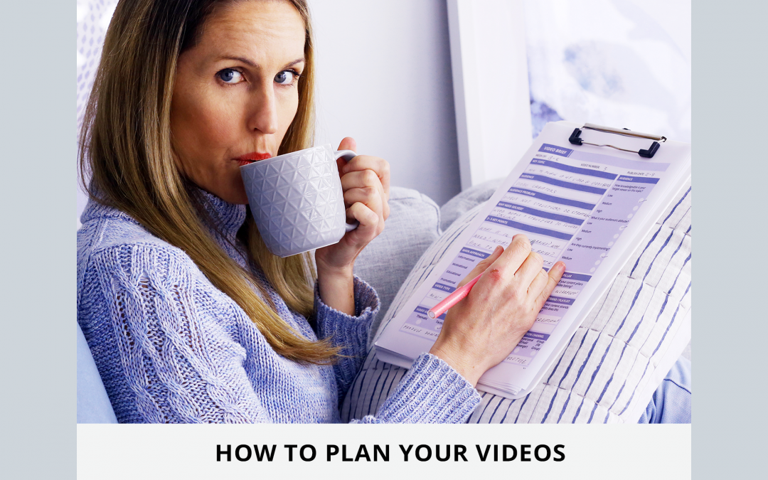 How to Plan Videos with a video brief, for YouTube, Facebook and Instagram